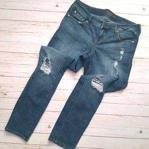 TORRID Premium Boyfriend Distressed Denim Jeans